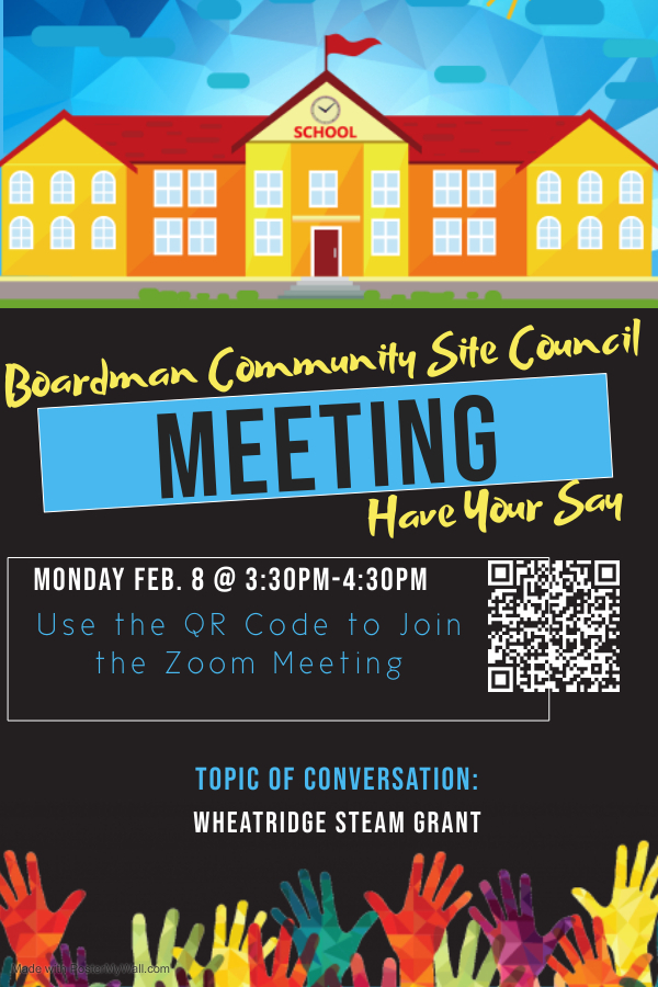 Boardman Community Site Council Meeting